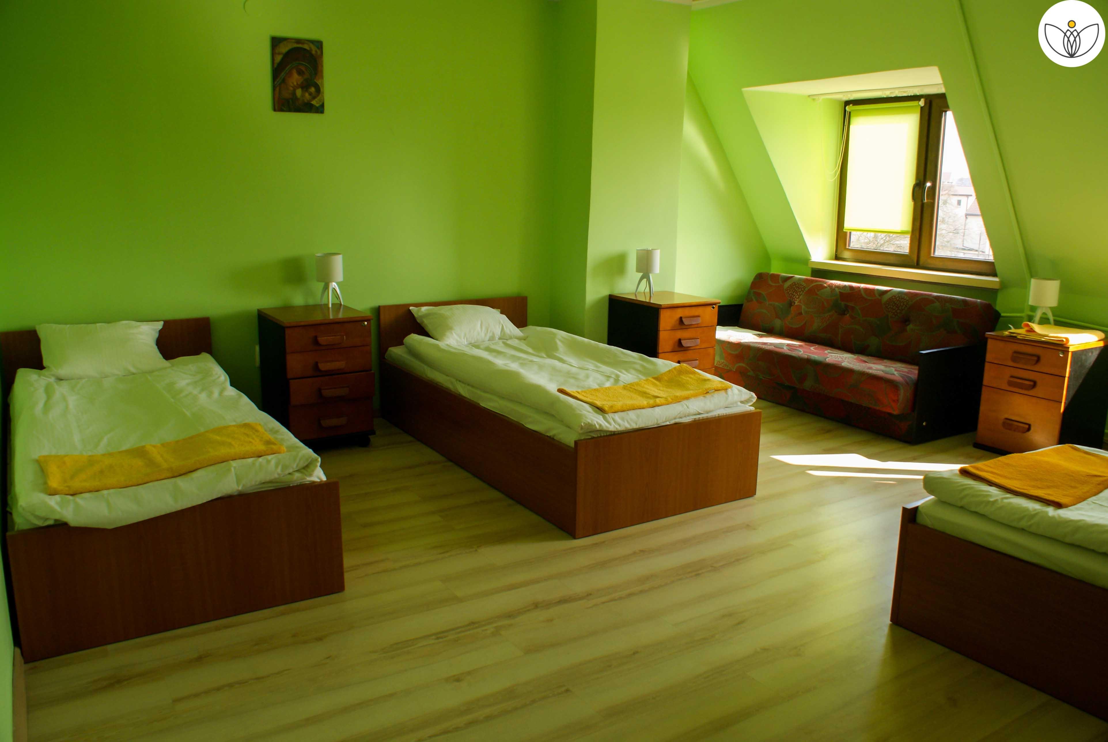 Pokój wieloosobowy na piętrze